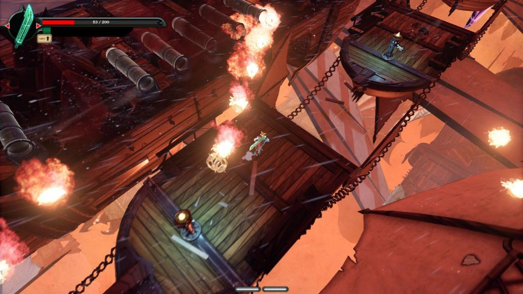 Stories: The Path of Destinies im Test - Geschicklichkeitspassagen