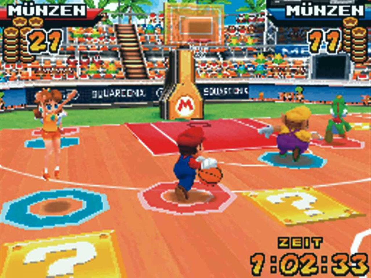 download nds games mario basketball