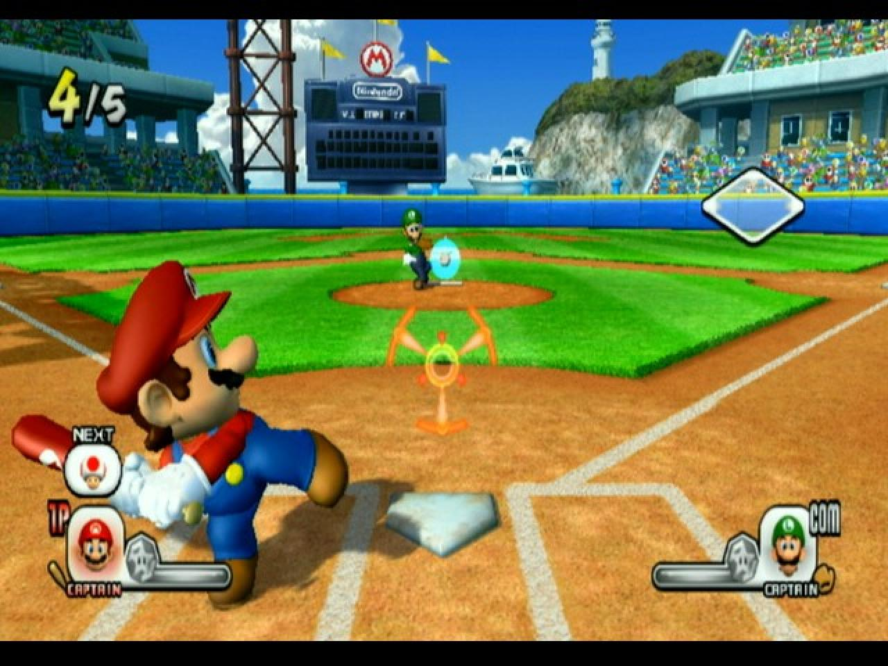 [11/07/08] Super Mario Stadium: Family Baseball - Wii