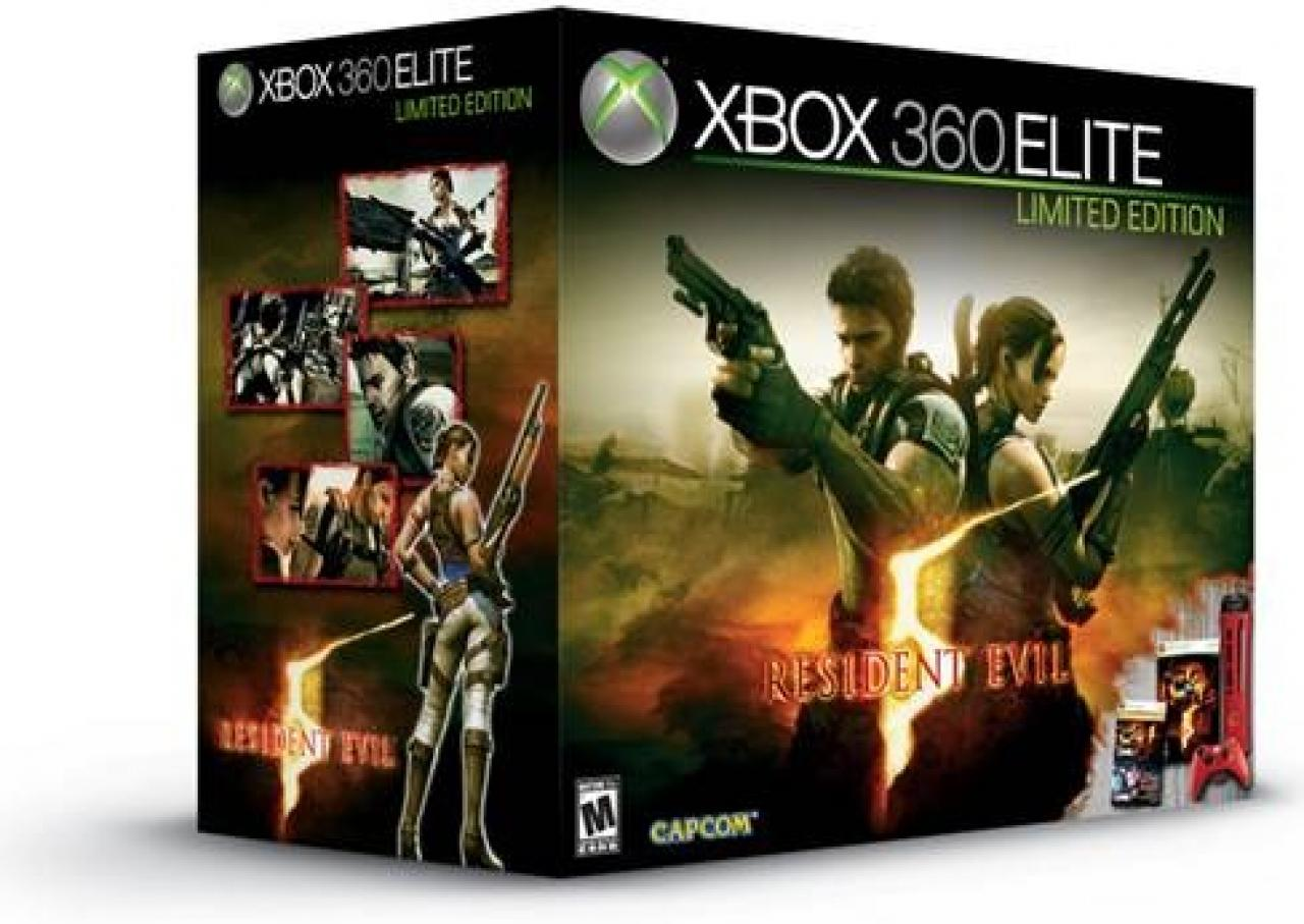 [25/02/09] Xbox 360 Elite Resident Evil 5 Bundle (1)