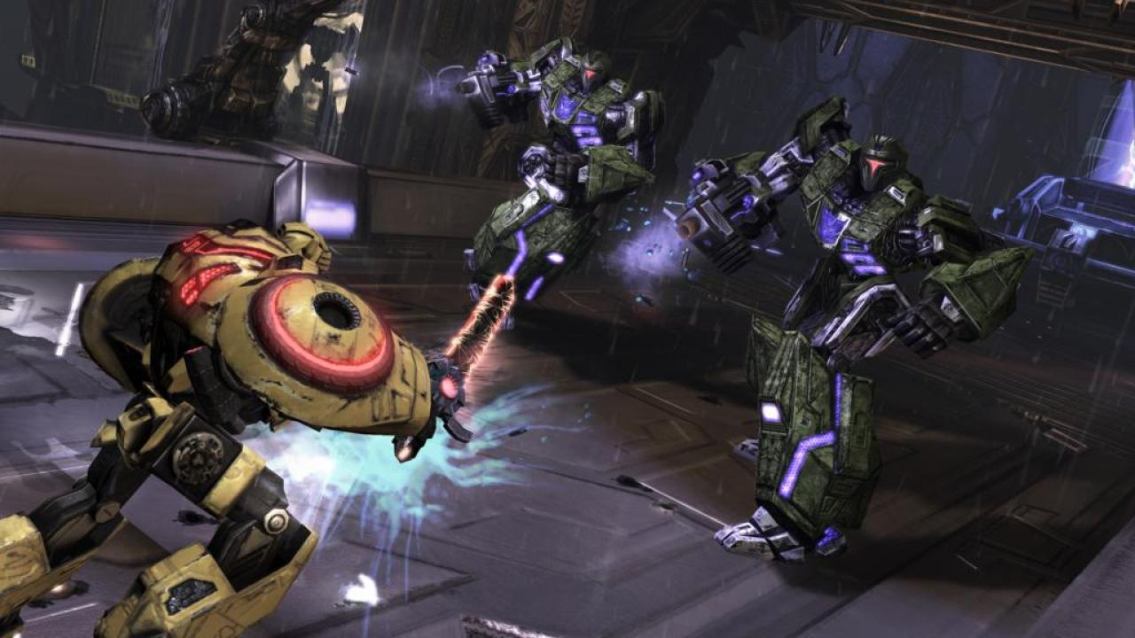 [27/02/10] Die neuesten Screenshots zu Transformers: War for Cybertron. (1)