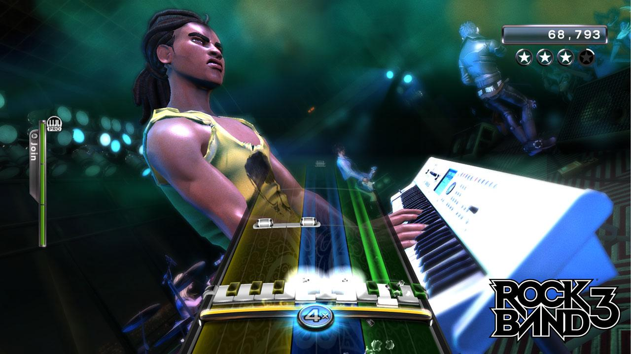 [11/06/10] Rock Band 3: Alle E3 2010-Screenshots