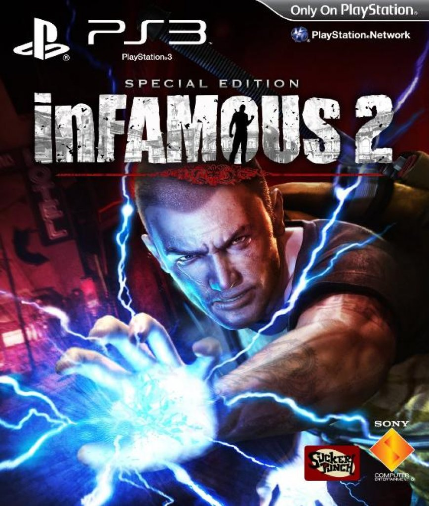 [06/05/11] Infamous 2 Special Edition Packshot