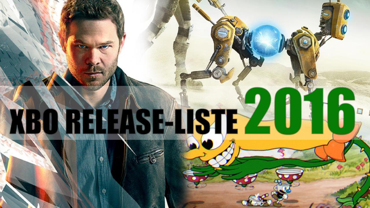 Xbox One Release Games : Xbox one spiele release liste mit terminen der games