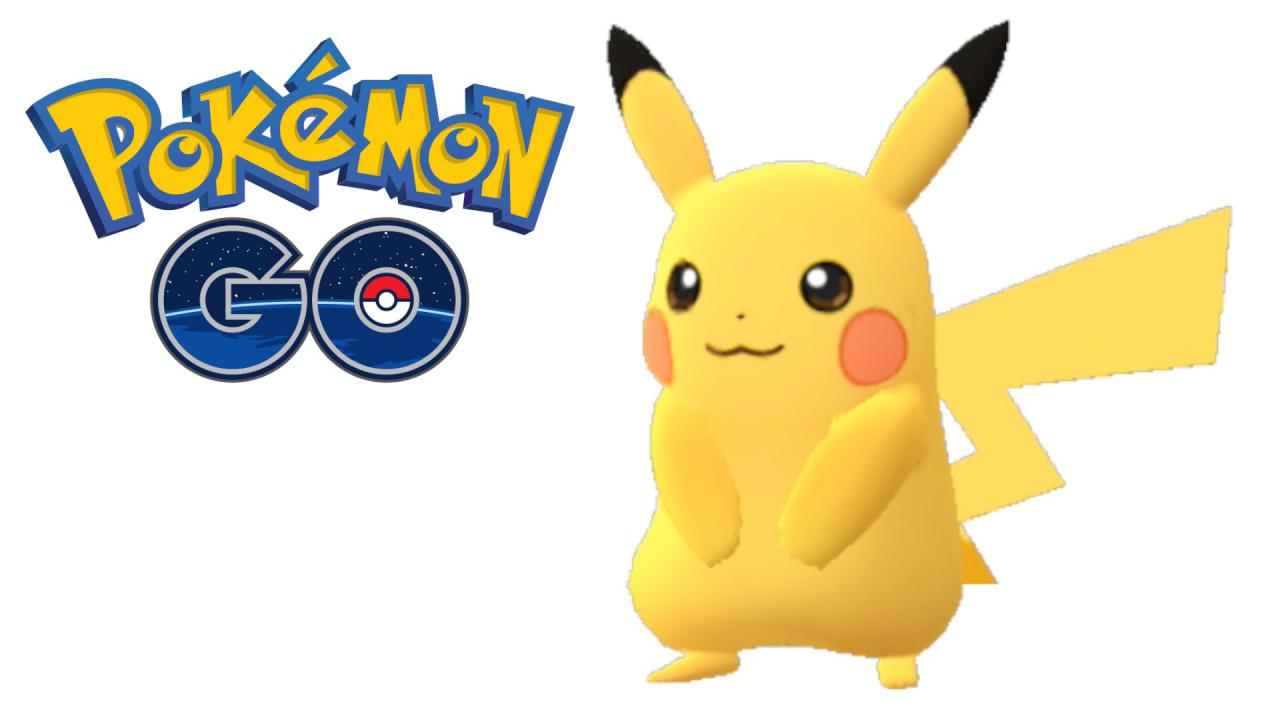 Pikachu From Pokemon Go Images