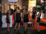 Messe-Babes der gamescom 2009