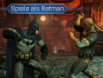 Screenshots aus der iPad-Version der Batman: Arkham City Lockdown-App.  (1)