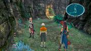 Final Fantasy 13-Gundlagentipps: Orientierungshilfe - Oft geht es, wie auf dem Bild, nur geradeaus. Doch das ist nicht immer so und ein kurzer Blick auf die Karte hat noch nie geschadet.
