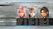 Final Fantasy 13-Gundlagentipps: Rundumcheck - Steht ihr vor einem wichtgen oder schweren Kampf, solltet ihr noch einen Blick in die Menüs werfen, ob ihr auch für den Kampf gerüstet seid.
