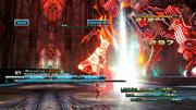 Final Fantasy 13-Kampftipps: Abgehoben - Geübte Brecher können selbst Giganten in die Luft katapultieren.