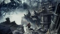 Umgebung aus Dark Souls 3: The Ringed City