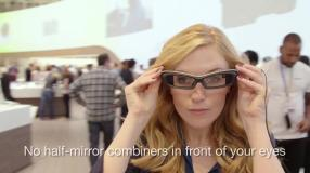 Sony Smart Eye Glass im Video vorgestellt