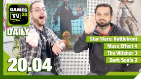 Games TV 24 Daily: Star Wars Battlefront, Mass Effect 4, The Witcher 3, Dark Souls 2
