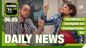 Video-Newsüberblick: The Witcher 3, Starfighter Inc, Formula Fusion, GoG - Games TV 24 Daily
