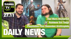 Star Wars wie Uncharted? Rainbow Six Siege, PS Plus Gratisspiele - Video-News