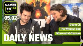 Doom CE, The Witness Bug, Morrowind-Remake - Video-News vom 5. Februar