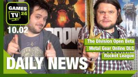 The Division, Rocket League, Metal Gear Online - Video-News vom 10. Februar