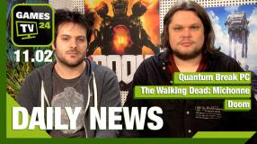 Quantum Break, TWD: Michonne, Doom - Video-News vom 11. Februar