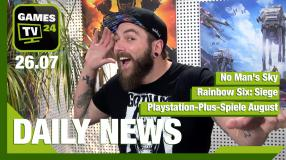 No Man's Sky, Ps Plus Spiele August, Pokémon GO - Video-News vom 26. Juli