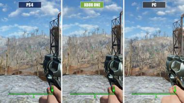 Fallout 4: Video-Grafikvergleich - PC vs. Xbox One vs. PS4