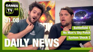 Battlefield 1, System Shock 3, No Man's Sky - Video-News vom 31. August 2016