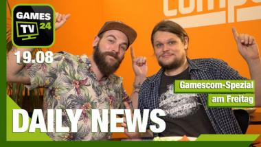 gamescom: Der Messe-Freitag im Gamescom-Daily - Video-News vom 19 August