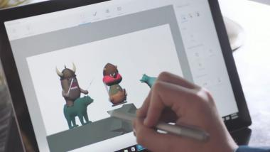 Windows 10 Paint 3D: 3D-Offensive bei Microsoft im Video