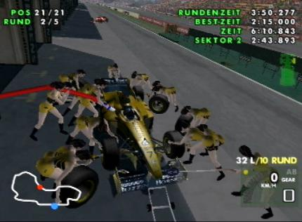 F1 Racing Championship - Cheats