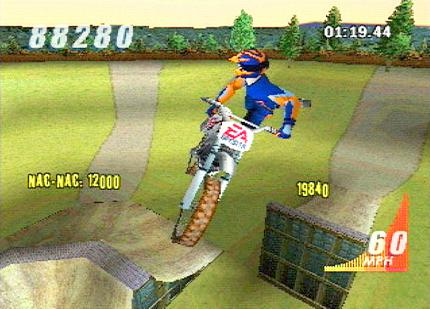 Supercross 2001 - Cheats