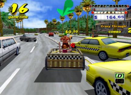 Crazy Taxi - Cheats