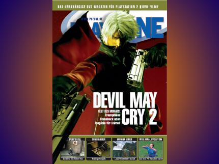 Die PLAYZONE DVD 04/2003 - u.a. mit Devil May Cry 2, Final Fantasy X-2, Resident Evil!