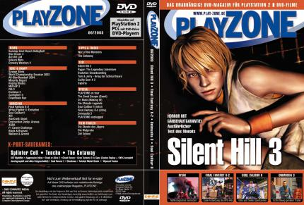 Das DVD-Cover der PLAYZONE 6/03