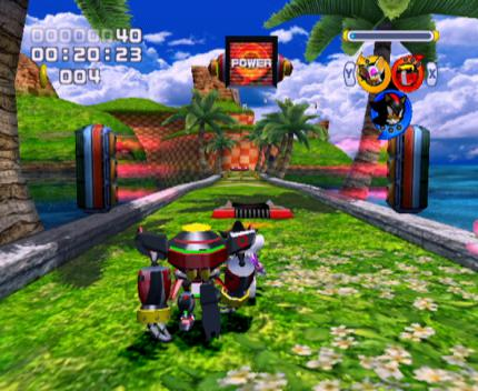 Action-Replay-Codes: Sonic Heroes
