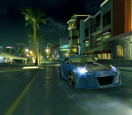 Ein Screenshot aus der PC-Version von Need for Speed Underground 2.