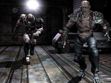 Quake 4: Zwei Screenshots