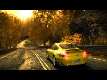 NfS Most Wanted: Porsche im Wald