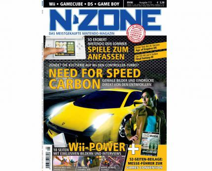 N-ZONE 09/06: Mit Need for Speed Carbon, Final Fantasy III, Pokémon Diamond & Pearl und coolen Reportagen!