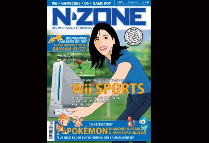 N-ZONE 12/06: Mit Wii Sports, Super Monkey Ball: Banana Blitz, Pokémon Wii, Pokémon Diamond & Pearl, Red Steel!
