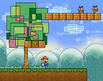 Der Video-Test zu Super Paper Mario (Teil 2): Pixl-Power