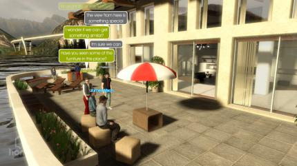 Screenshots aus PlayStation Home (1)