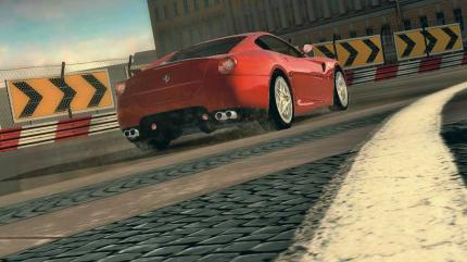 Schneegestöber in Project Gotham Racing 4