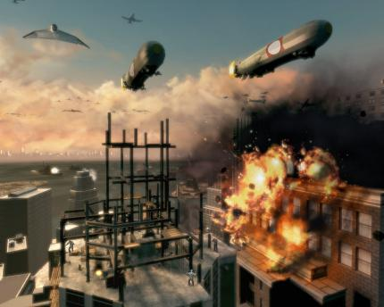 Invasion-Trailer zu Turning Point: Fall of Liberty