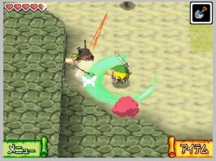 Zelda DS: In-Game-Video zeigt actionreiche Kampfszenen