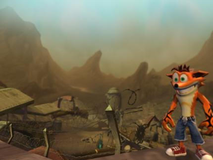 Riesige Bilderladung zu Crash of the Titans