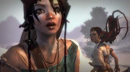Fettes Gameplay-Video zu Heavenly Sword