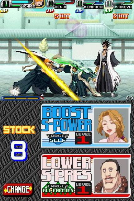Neue Screenshots zu Bleach: The Blade Of Fate für DS