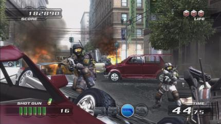 Neue Screenshots zu Time Crisis 4 für PlayStation 3