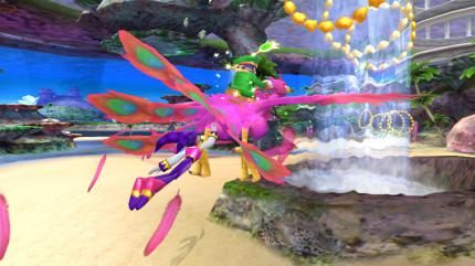 Der Wahnsinn: 80 Screenshots aus NiGHTS: Journey of Dreams für Wii