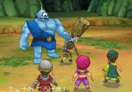 Fantasievolle Screenshots zu Dragon Quest IX für DS