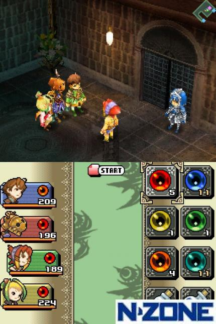 Exklusive Screenshots und neues Video zu Final Fantasy Crystal Chronicles für DS